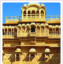 Bhandeswari Jain Temple and Havelis Bikaner